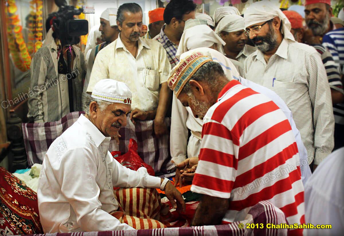 Sai Parmanand Saheb Sai Vasan Shah Darbar