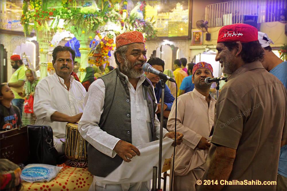 Thanwan Bhagat Palav at Puj Chaliha Sahib Mandir