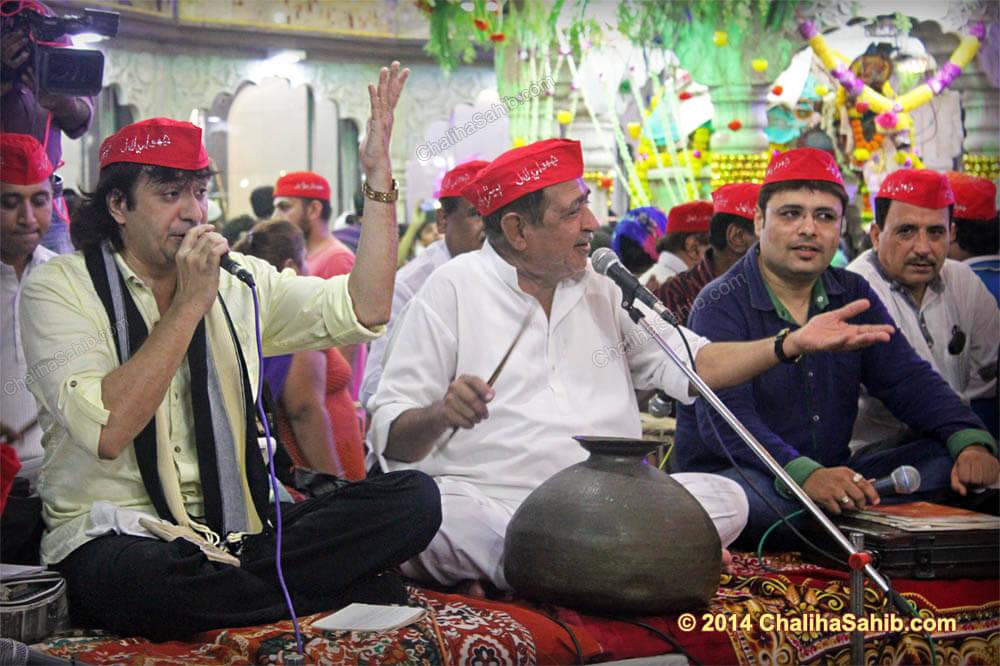 Raj_Juriani_at_Chaliha_Sahib_Mandir