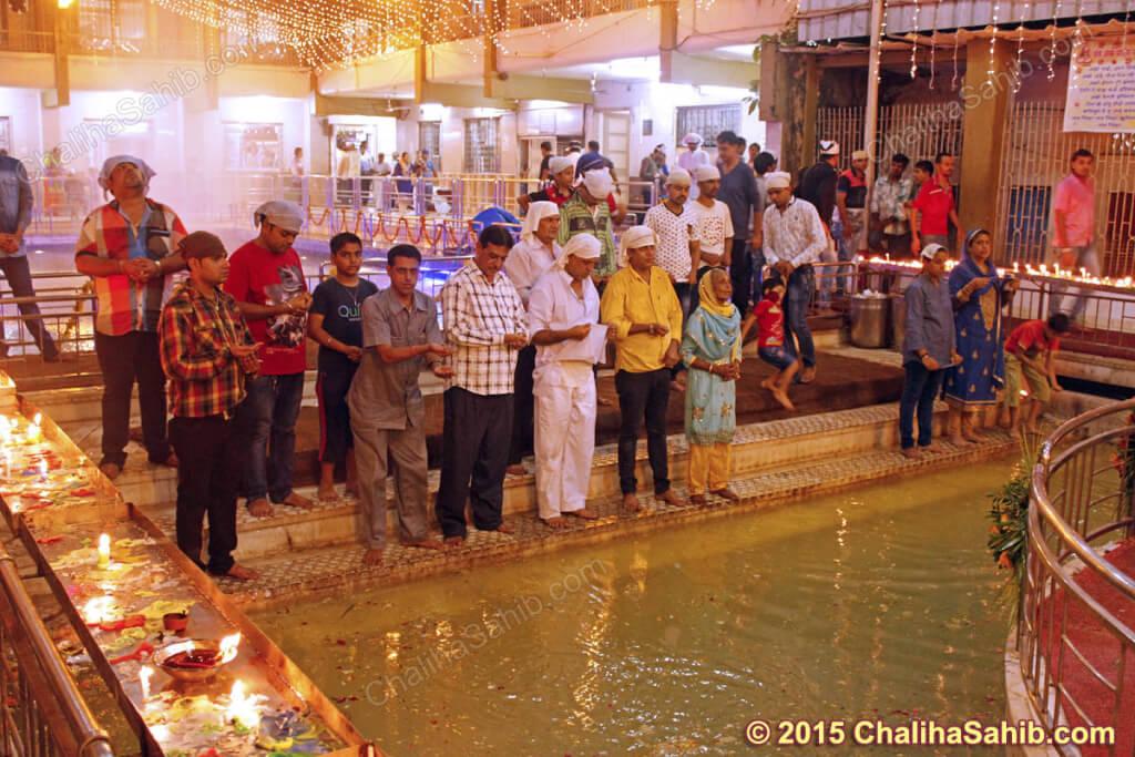 Puj-Chaliha-Sahib-Jhulelal-Mandir-Akho
