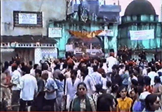 Puj Chaliha Sahib Mandir Gate-Prior-1990