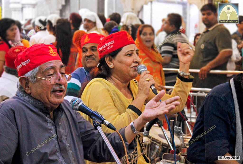 Dada-Satram-Rohra-and-Suman-Khemlani-at-Chaliha-Sahib-2015