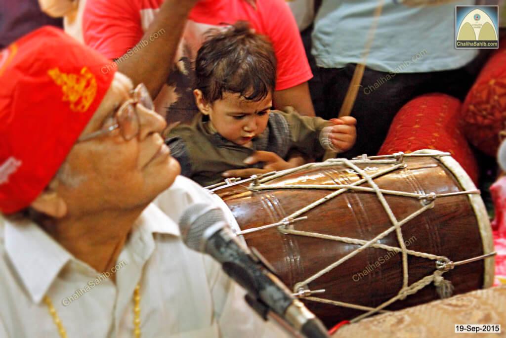 Dilbar-Sain-on-Tabla-Sai-Vasan-Shah-Chaliha-Sahib-Mandir