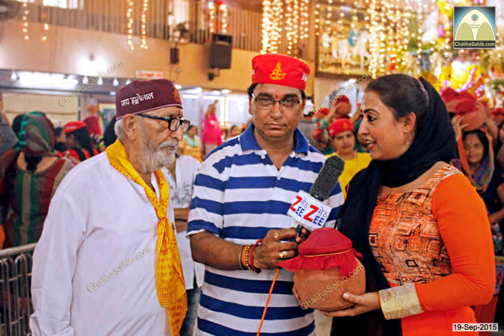 Chaliha-Sahib-Mandir-Mannat-Thakur-Vazirani-giving-Interview