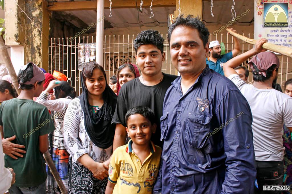 Chaliha-Sahib-Mandir-Matki-Mela-Mangesh-family