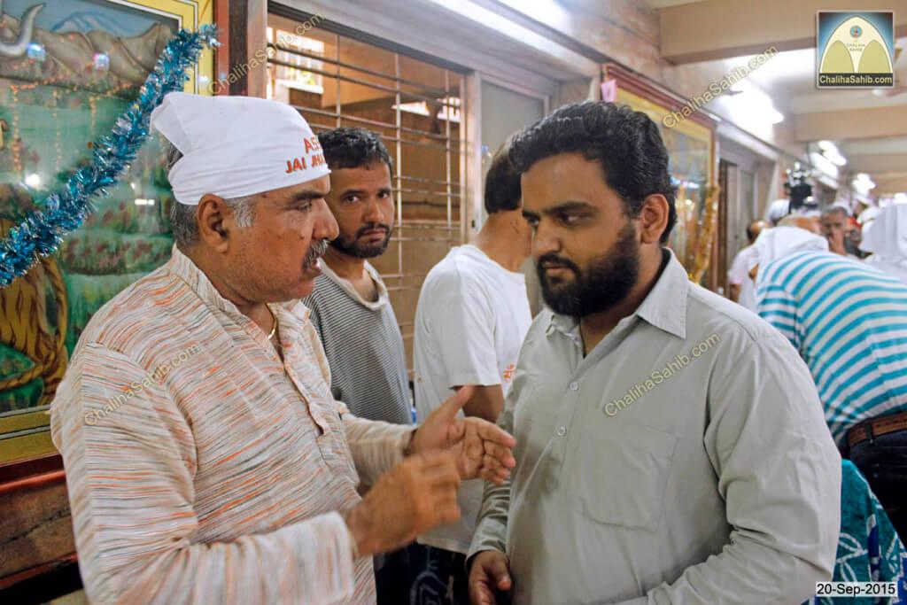 Chaliha Sahib Palav Day Ramesh Parwani with Panjwani