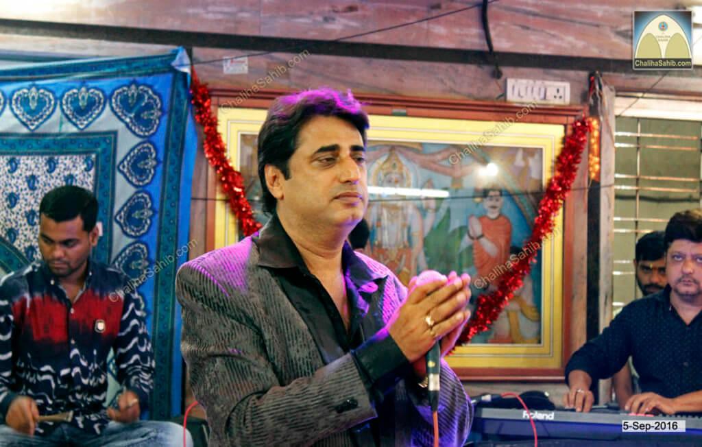 Vijay Wadhwa at Puj Chaliha Sahib