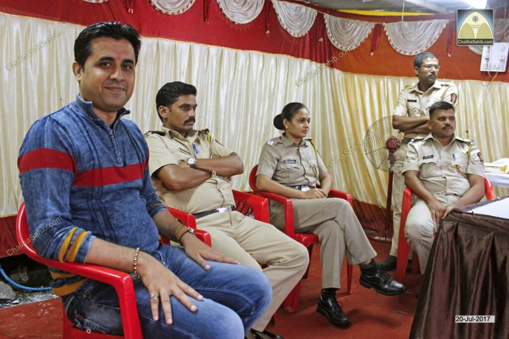 Police Force and Sonu Vishnani at Medical Camp Booth yet to be formed