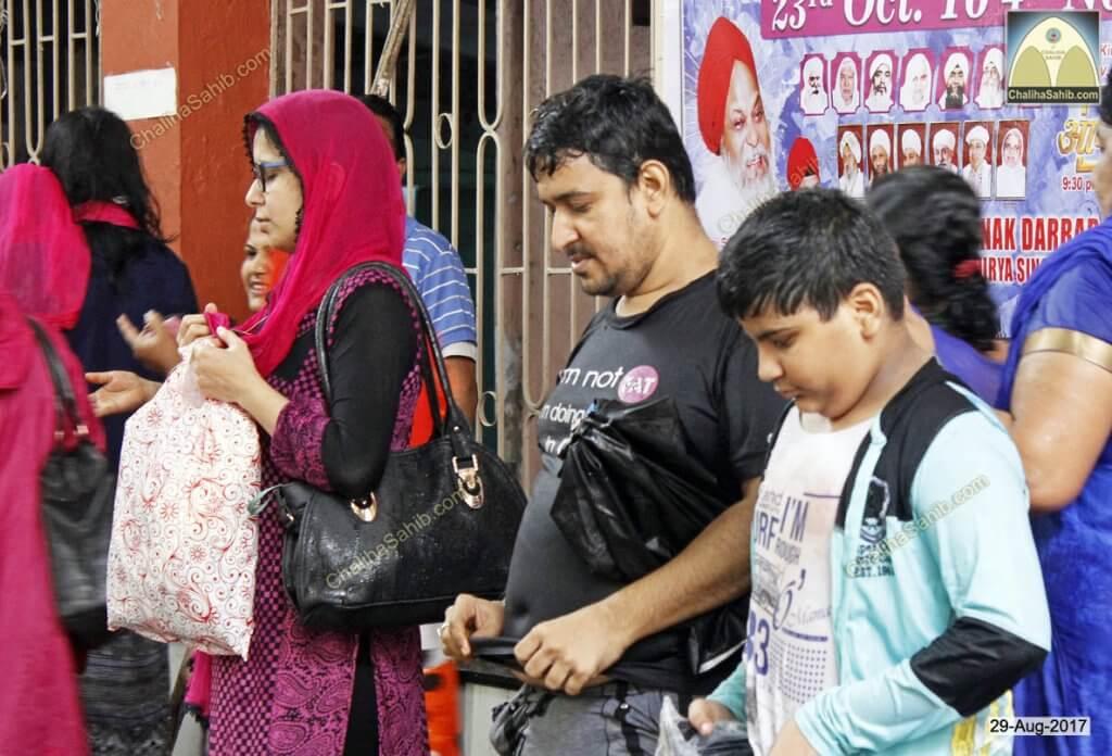 Chaliha Sahib Jhulelal Mandir Matki Mela 2017 Devotees Palav