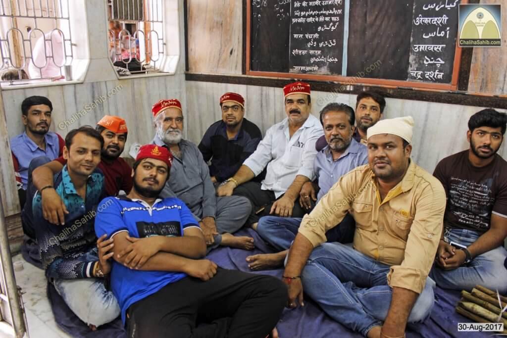 Chaliha Sahib Palav Sunil Dusseja Team